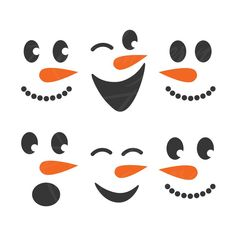 Snowman face svg snowman svg christmas svg png dxf Cutting files Cricut Funny Cute svg designs print for t-shirt Christmas Wood, Christmas Projects, Christmas Craft Fair, Primitive Christmas, Country Christmas, Snowman Crafts, Holiday Crafts, Snowman Faces, Cute Snowman