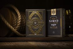 Nomad Playing Cards #dieline