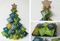 mami chips crafts: Calendario dell'avvento... anche quest'anno giusto in tempo!