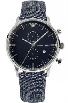 Emporio Armani Herren Chronograph Armband Uhr AR1690