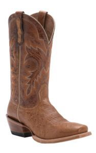 Ariat Ranchero Mens Antique Saddle Smooth Ostrich Punchy Square Toe Western Boot | Cavender's