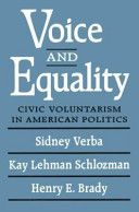 Voice and Equality: Civic Voluntarism in American Politics co-written by Moakley Professor of Political Science Kay L. Schlozman, has been named winner of the 2012 American Association for Public Opinion Research Book Award