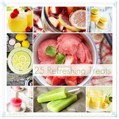 25 Refreshing Summer Treats and Recipes at the36thavenue.com  #summer #popsicles