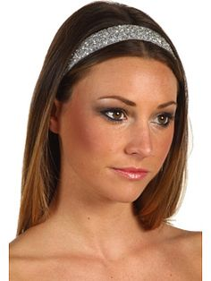 Jane Tran - Blue Beaded Embroidered Headband -- Very cute but stupid expensive!