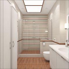 Ensuite bathroom designs google search downstairs - Narrow shower room design ...