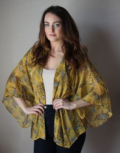 Cheetah Zebra Lovin' Kimono Top – Sisterly Chic Boutique