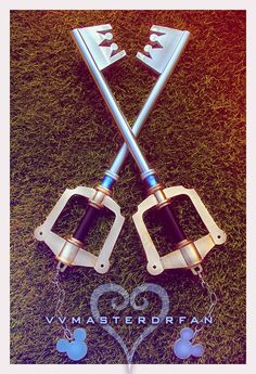 Kingdom Hearts Keyblades.