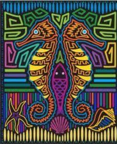 Molas Panamá pattern print
