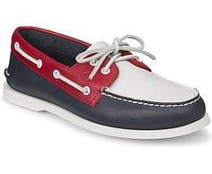 Sperry Top-Sider Authentic Original Flag Day 2-Eye Boat Shoe