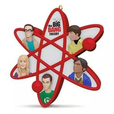 The smart but socially challenged characters of The Big Bang Theory are so endearing, the show earned a top spot in the ratings. Relive the laughs with a Keepsake Ornament that features an atomized Sh