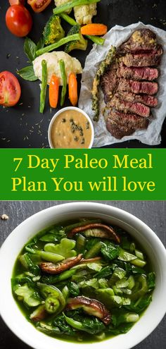 7 Day Paleo Meal Plan You will love