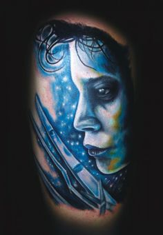 Edward Scissorhands tattoo by Tyler Malek #InkedMagazine #movie #tattoo #JohnnyDepp #EdwardScissorhands #Inked #tattoos