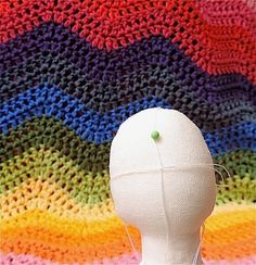 Rainbow Hare Quilts: Granny Square's Hair - A Picture Tutorial
