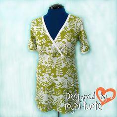 Sophia - trikootunika Perhosmetsä (lyhythihainen) Wrap Dress, Dresses, Design, Products, Fashion, Vestidos, Moda, Fashion Styles