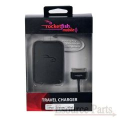 Rocketfish Iphone / Ipad / Ipod Ac Charger (Rf-A4B95) - Black  $9.99 Price:  Availability: In stock SHIPS IN 1 - 2 DAYS