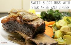 This dinner is ideal if you are busy during the day and have minimal time to prep in the evening (or if you simply want a hearty short rib!).