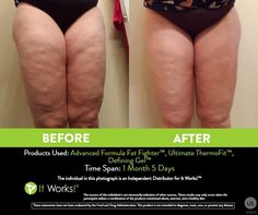 My personal fitness journey with It Works! I love these products, and how I feel!