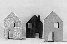 Casitas de cemento - accesorios y decoración para el hogar - hecho a mano - en DaWanda.es