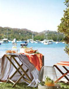 seaside picnic. perfect