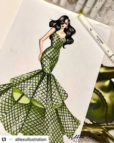 """People will stare. Make it worth their while. Dress Design Drawing, Dress Design Sketches, Fashion Design Sketchbook, Fashion Design Drawings, Fashion Sketches, Fashion Figure Drawing, Fashion Model Drawing, Fashion Drawing Dresses, Dress Illustration"