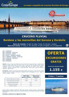 Crucero fluvial por Burdeos y Garona-oferta exc. GRATIS-sal. de abril a octubre-todo incluido(8d/7n) ultimo minuto - http://zocotours.com/crucero-fluvial-por-burdeos-y-garona-oferta-exc-gratis-sal-de-abril-a-octubre-todo-incluido8d7n-ultimo-minuto-5/