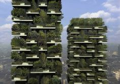 Bosco Verticale | Community Post: 39 Insanely Cool Vertical Gardens