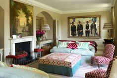 Drawing Room - ELLEDecor.com