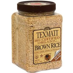 #WalmartGreen  Texmati Organic Brown Rice, 36 oz (Pack of 4)