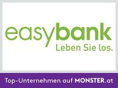 """Die easybank AG wurde 1997 gegründet und serviciert derzeit bereits über 480.000 Konten. Nach dem Motto """"weniger ist mehr"""" setzt die easybank AG auf modernste Technik, schlanke Strukturen, beste Konditionen und durchdachten Service. Die dadurch entstehenden Kostenvorteile gibt die easybank AG in Form von starken Bankprodukten und Service-Leistungen an ihre Kunden weiter, die dadurch Zeit und Geld sparen. Mehr auf http://unternehmen.monster.at/profile/easybank"""