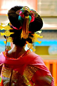 Oiran Fashion and Designer Style Yukata, Kimono Chino, Samurai, Memoirs Of A Geisha, Turning Japanese, Kanzashi, Portraits, Japanese Beauty, Asian Beauty