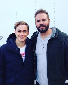 """""""Had so much fun working with this big guy! Thank you! @david_denman"""""""