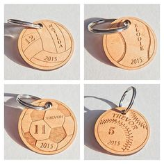 Sports keychains just in time for the holiday stocking stuffers! Show me what…