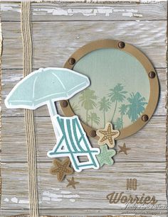 Are Included in All Paper Packs Between the Folds challenge is to make a project with a Pi cture M y L ife card. I used the palm tree ...