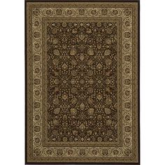 "Momeni Westminster Kashan Ivory Power-Loomed Rug (11'3"" x 15') (Westminster Kashan Ivory Power-Loomed Rug (11'3 x 15'))"