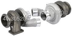 buyautoparts.com carries OEM BorgWarner Turbo Chargers. Buyautoparts part number 40-30520ON, crosses with BorgWarner part number 174826