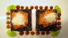 Red Quinoa salad - carrots - pecorino shavings - Miso I Red Quinoa Salad, I Love Food, I Foods, Cage, Carrots, Desserts, Tailgate Desserts, Deserts, Carrot