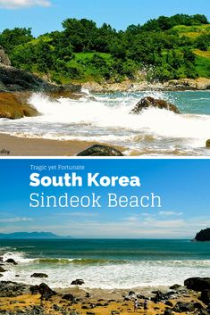 Sindeok Beach in Yeosu, South Korea. Tragic yet Fortunate. #SouthKoreaTravelInfo