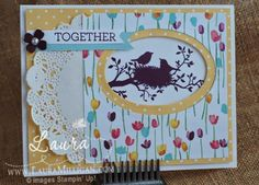 "Laura Milligan, Stampin' Up! Demonstrator - I'd Rather ""Bee"" Stampin!: World of Dreams - SU"