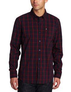 Victorinox Men's Vals Windowpane Sport Shirt « Clothing Impulse