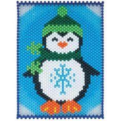 Herrschners® Jolly Penguin Beaded Banner Kit