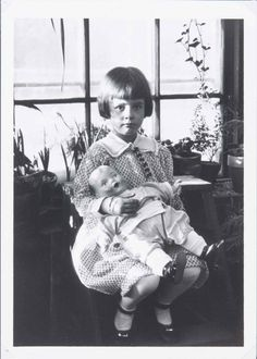 Babe Paley, age 5
