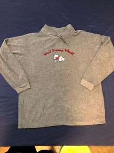 Walt Disney World Winnie The Pooh Thick Terry Cloth Sweater L Large Donald Trump Republican, Disney Contemporary Resort, Disney Best Friends, Blue T, Embroidered Sweatshirts, Disney Tees, Vintage Mickey, Disney Winnie The Pooh, Walt Disney World