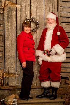Me & Santa, by LuAnn Hunt Photography