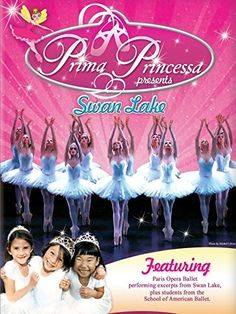 $1.99 Amazon Instant Video Rental. For kids ages 3-6. Learn ballet steps and watch real ballet with Prima Princessa and friends. Prima Princessa Presents Swan
