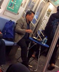 20 Unforgettable Subway Moments From 2014. It's not always pleasant, but it's never dull | #nyc #ilovenewyork #mta