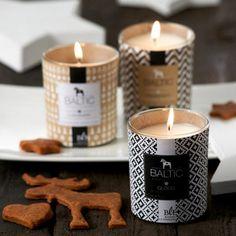 On craque pour ces bougies parfumées et leurs habillage graphique!