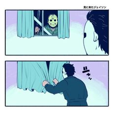 Halloween, Michael Myers, Jason Voorhees, Comic, Funny, Horror Characters Horror Movies Funny, Horror Movie Characters, Scary Movies, Horror Icons, Horror Comics, Horror Art, Slasher Movies, Comic Movies, Michael Myers And Jason