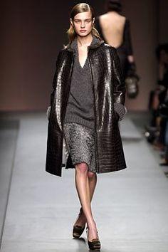 Prada Fall 2003 Ready-to-Wear Fashion Show - Natalia Vodianova, Miuccia Prada