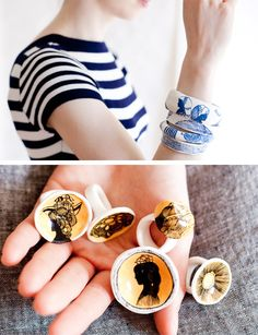 awesome hand painted jewelry