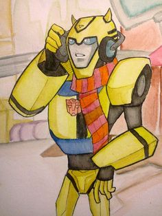 BUMBLEBEE by Blueberry-R on deviantART